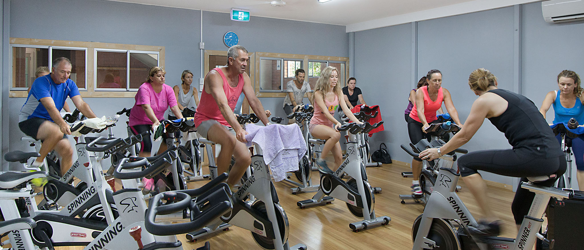 See our extensive group fitness timetable!